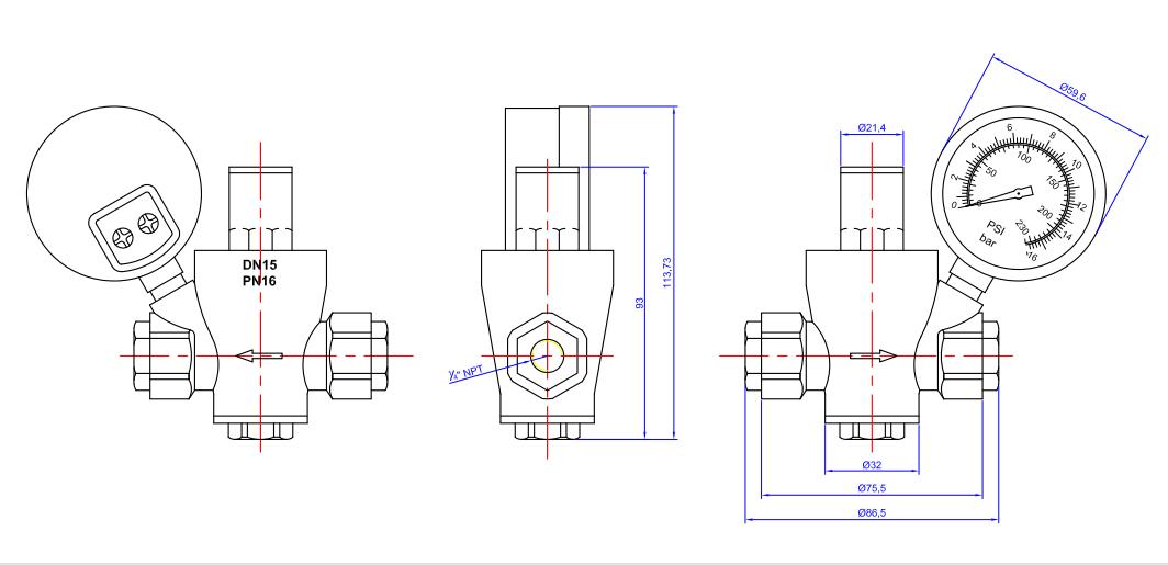 reducing valve8