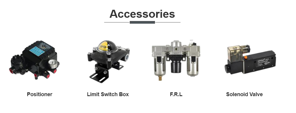 Accessories of Pneumatic Valve (1)