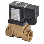 HK52310 Brass Electric Gas High Pressure Solenoid Ball Valve