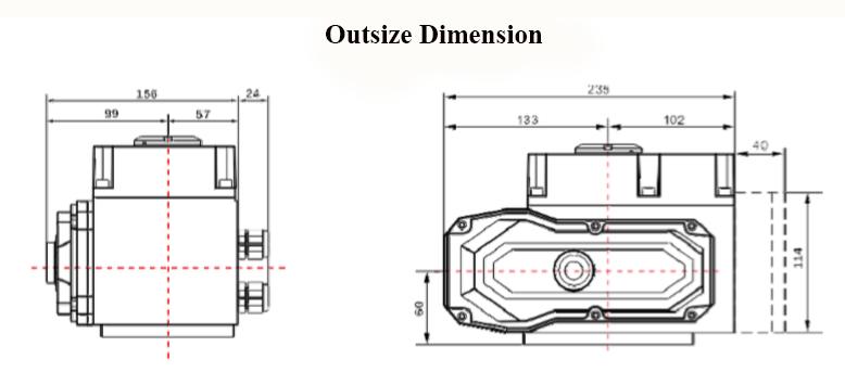 multi turn electric actuator