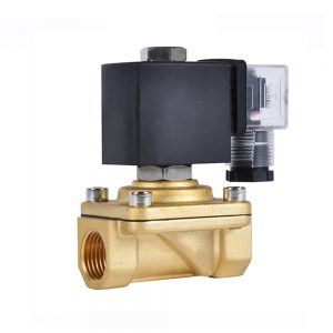 ZCM 2 Way Normally Closed 24v DC Brass Water Electric Solenoid Valve