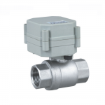"COVNA HK62-S DN15 1/2"" Stainless Steel Mini Electric Ball Valve"