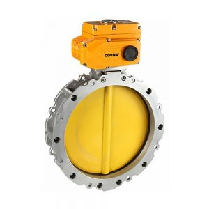 COVNA Powder/Cement Flange Electric Butterfly Valve