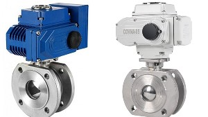 Electric Actuator Flange Wafer Type Ball Valve