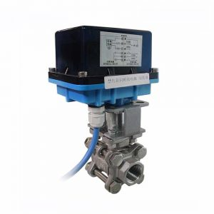 COVNA HK62-3PCS Ball Valve with Electrical Actuator