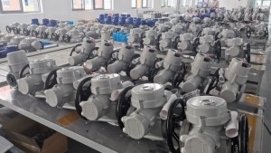 Multi-turn Electric Actuator Control Valve Manufacturers