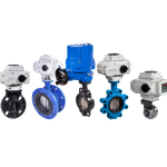 1.PVC/ Flanged/ Wafer/ Lug/ Sanitary/ Electric Actuator Butterfly Valve