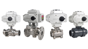 True Union/ Thread/ Flanged/ Tri-clamp Electric Ball Valves