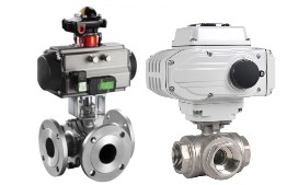 T Port and L Port 3 Way Ball Valves Differences