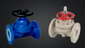 What are diaphragm valves?