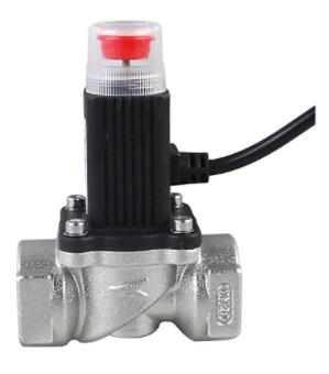 gas emergency shut off solenoid valve