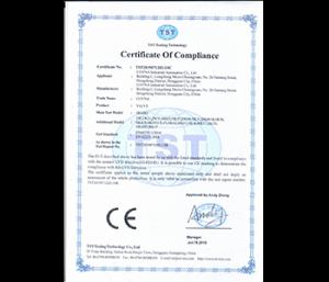CE Certicifiaction