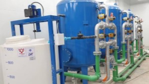 How to manage the valves for water treatment during their use?